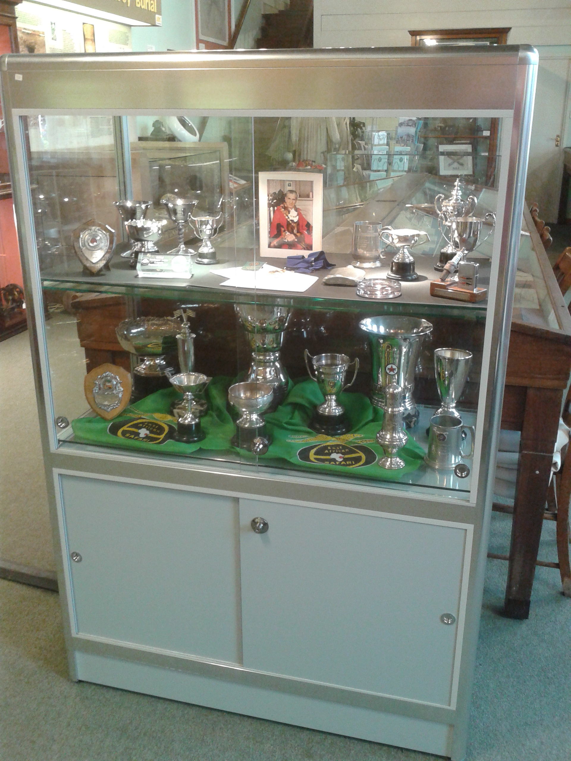 A Selection of Bill Bengry's trophies