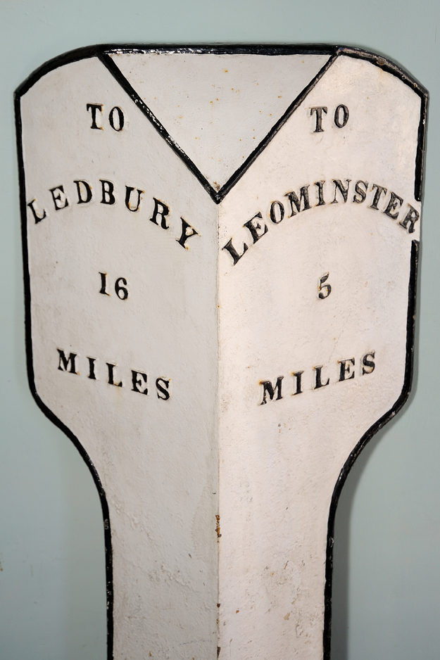Local Milepost for Leominster